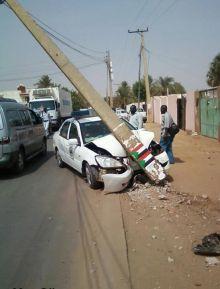شرطة المرور تتسبب في حوادث السيارات القاتلة بالسودان