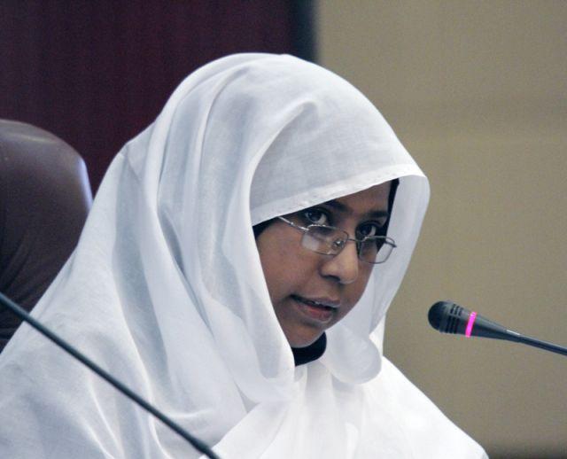 الدولب تطلع اللجنة الوطنية للنهوض بالمرأة علي ترتيبات القمة الافريقية لتمكين المرأة باديس ابابا