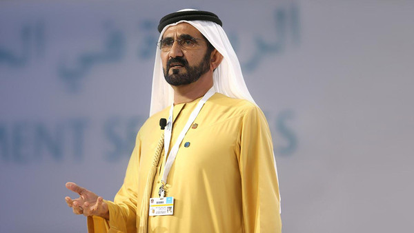 """محمد بن راشد: """"دولتنا تبحث عن التحديات لنتغلب عليها"""""""