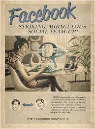 فيس بوك في الأربعينيات