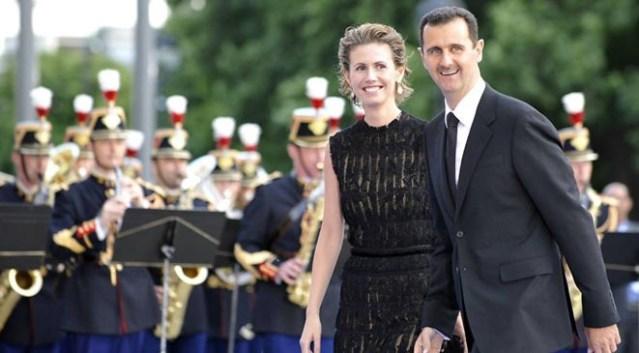 الأسد و زوجته
