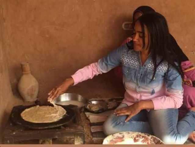 الإعلامية السودانية ومراسلة قناة اسكاي ،رفيدة ياسين