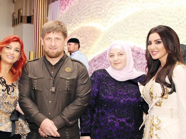 رئيس الشيشان و الزوجات