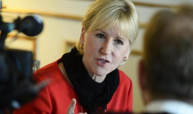 وزيرة خارجية السويد