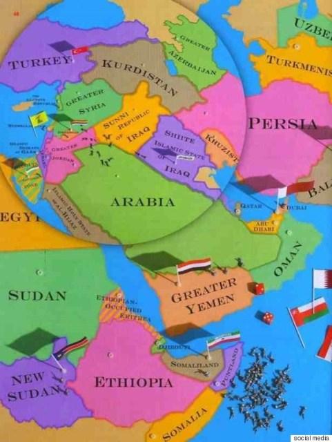 تقسيم الشرق الأوسط