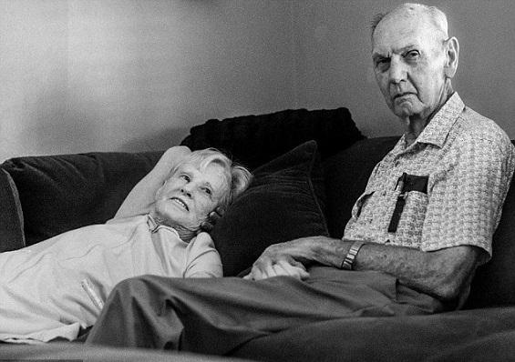زوجان عجوزان