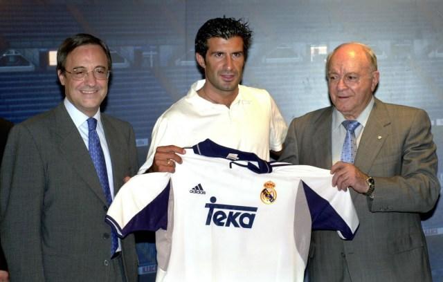 لويس فيغو ريال مدريد
