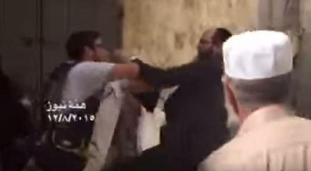 اسرائيلي يعتدي على شاب مسيحي