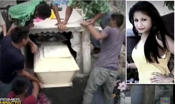فتاة تستيقظ من الموت بعد دفنها