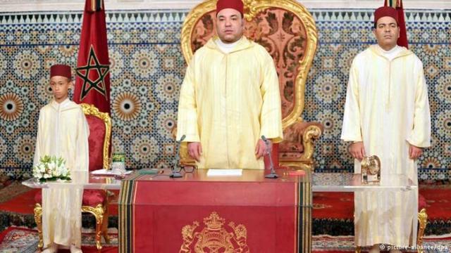 ملك المغرب
