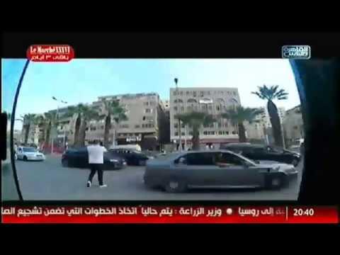 بالفيديو .. مذيعة مصرية تتعرض للتحرش في قلب القاهرة