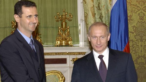 الاسد - بوتين