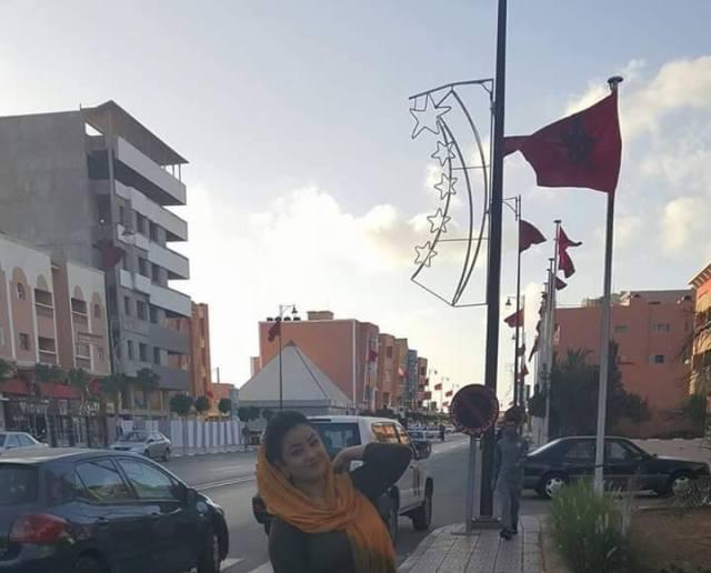مدينة كازابلانكا تعيد المطربة أفراح عصام للسيطرة علي فيسبوك