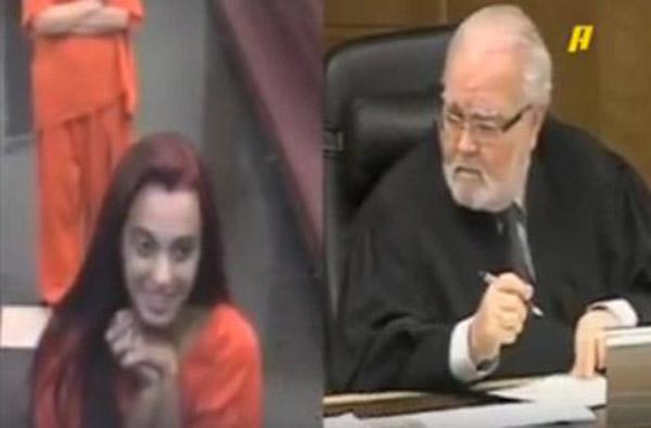 متهمة سبت المحكمة