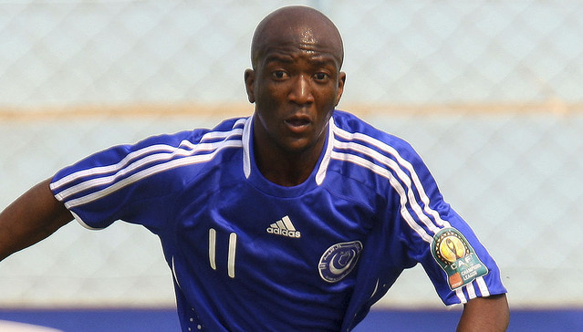 Edward Sadomba of Al Hilal.©Chris Ricco/Backpagepix