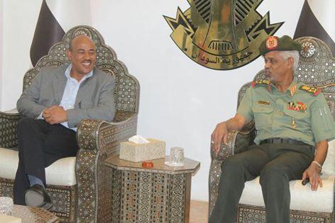 وزيرا الدفاع السوداني والاثيوبي
