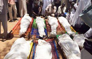 جثث هجوم مسلح بمسجد في دارفور