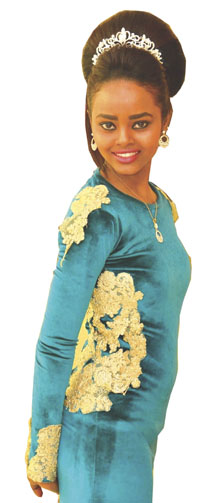ريماز قاضي سودانية و عارضة أزياء وإعلامية بالقاهرة تشارك في ملكة جمال أفريقيا