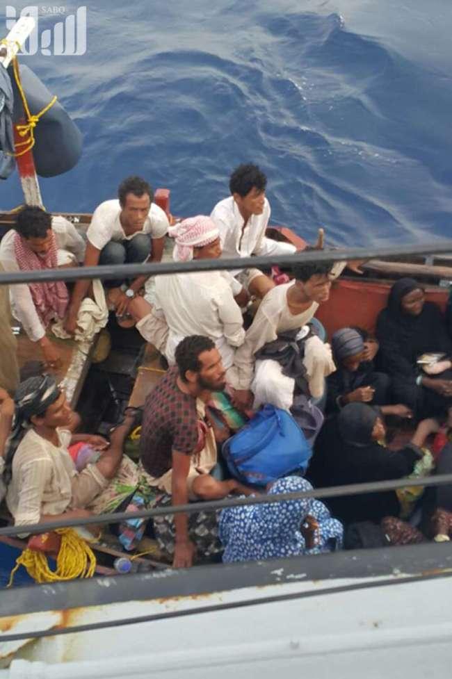 إحباط محاولة تسلل ٦٧ إفريقيًّا قَدِموا من الشواطئ السودانية1