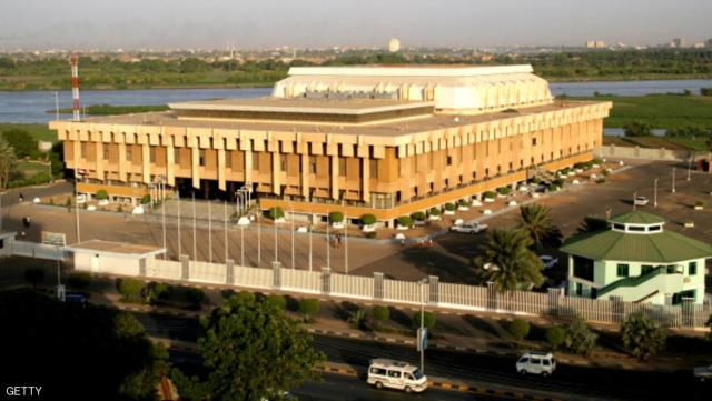 A picture shows the Sudanese parliament in the capital Khartoum on April 13, 2010.  AFP PHOTO /ASHRAF SHAZLY        (Photo credit should read ASHRAF SHAZLY/AFP/Getty Images)