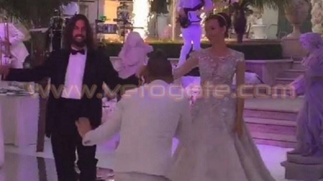 حفيد أحد جنرالات القذافي يتزوج ابنة مليونير روسي1