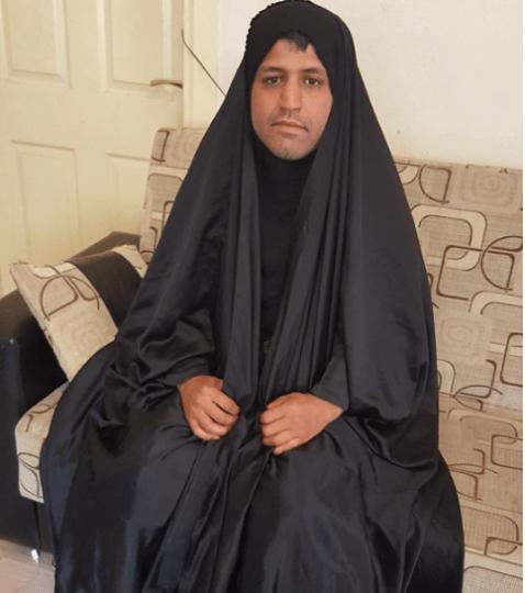 سر ارتداء رجال إيران الحجاب1
