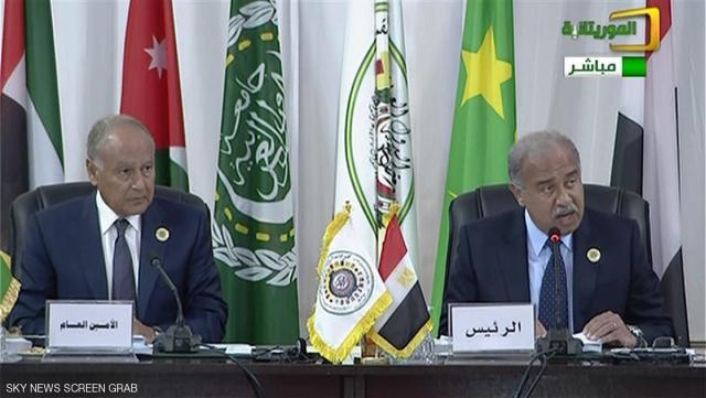 لجامعة الدول العربية أحمد أبو الغيط