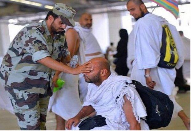 مغردون: أفمثل هؤلاء يقتلون3 امن الحرم المكي -شرطي