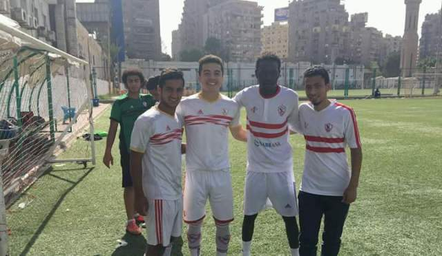 لاعب هلال الابيض ينتقل للزمالك المصري