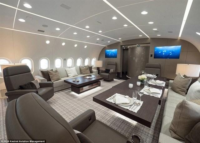 أفخم طائرة خاصة في العالم