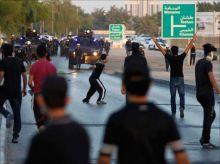 شرطة البحرين تفرق مظاهرة للمعارضة + صورة