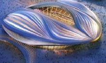 """بالفيديو:قطر تكشف عن تصميم """"ملعب الوكرة"""" المكيّف بالكامل"""