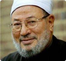 القرضاوي:  يصف عسكر مصر بالإرهابيين والقتلة