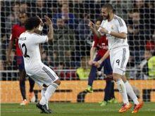 ريال مدريد يتغلب على أوساسونا بهدفي بنزيمة وخيسي