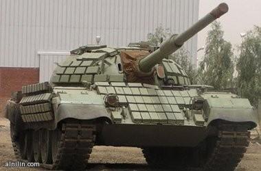 دبابة حربية - صناعة سودانية