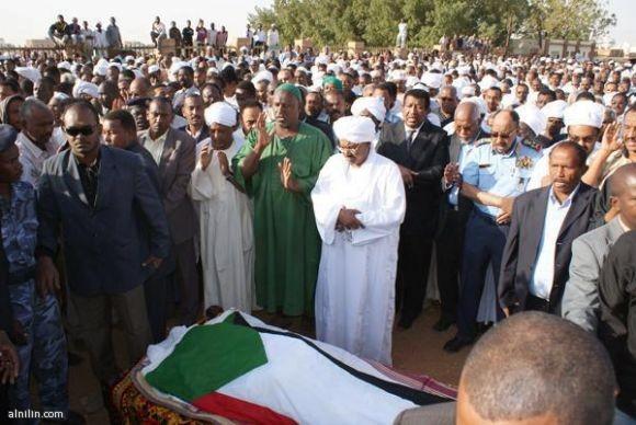 تشييع جثمان الفقيد محمد وردي لمثواه الاخير 19-2-2012