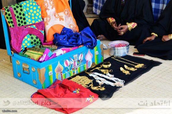 الشيلة في العرس الإماراتي التقليدي