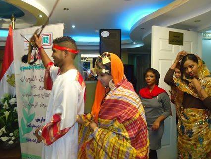 العرس السوداني - بيت السودان - القاهرة- 11 يناير 2014