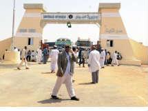 افتتاح معبر قسطل البري بين مصر والسودان