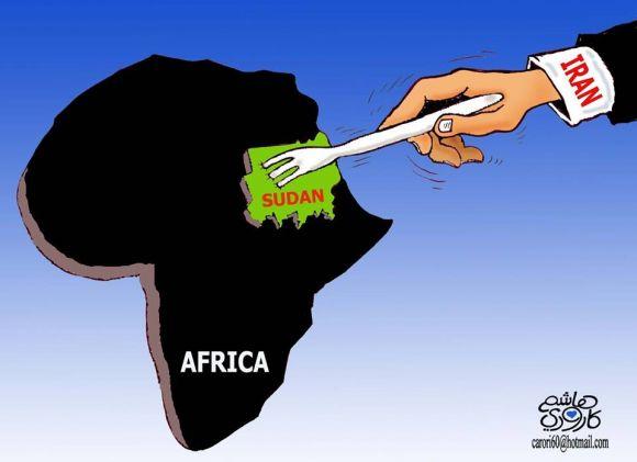 ايران والسودان !