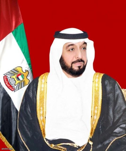 الشيخ خليفة بن زايد بن سلطان آل نهيان  - حاكم أبو ظبي رئيس الإمارات العربية المتحدة