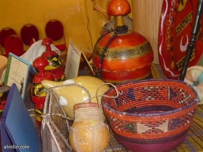 حق وأدوات  تراثية سودانية شهيرة
