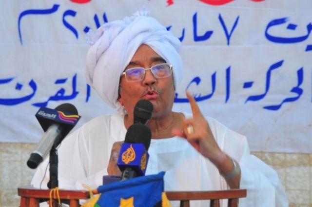 المؤتمر السوداني: سن أبو عيسى لا تؤهله لرئاسة تحالف المعارضة
