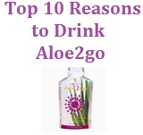Top 10 reasons to drink Aloe2go