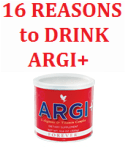16 reasons to drink Forever Argi+