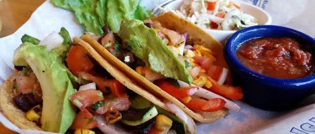 Gluten Free Veggie Tacos! Photo: Michael Farah.