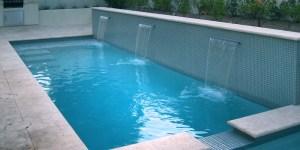 Glass Mosaic Pool Detail