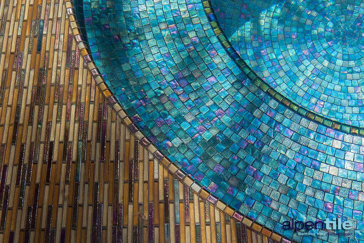 The Devil is in the Details. : Alpentile Glass Tile Pools and Spas