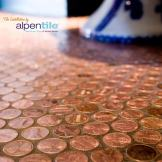Copper Penny Floor