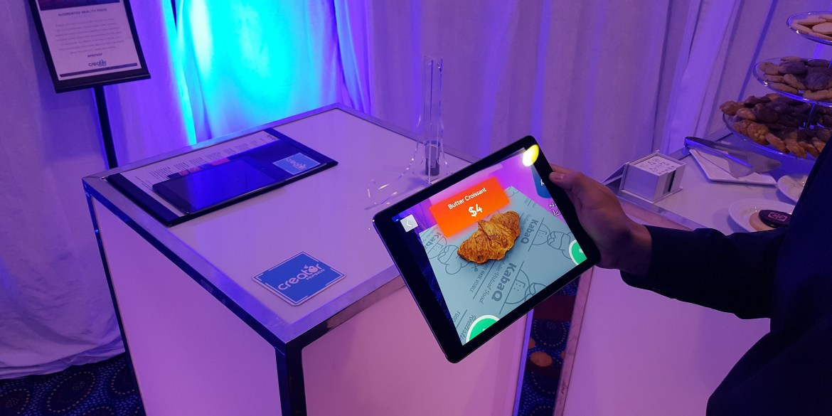augmented reality food pepsico summit